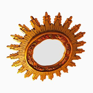 Baroque Style Sun Mirror from Arte España