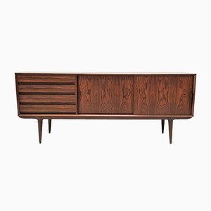 Model 18 Danish Rosewood Credenza by Gunni Omann for Omann Jun, 1960s