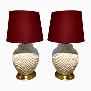Table Lamps by Tommaso Barbi, 1977, Set of 2