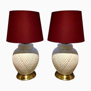 Tischlampen von Tommaso Barbi, 1977, 2er Set