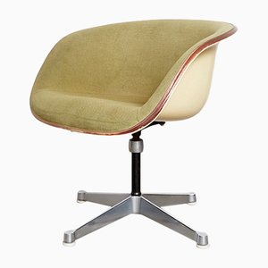 Sillón Club de fibra de vidrio de Charles & Ray Eames para Vitra, años 60
