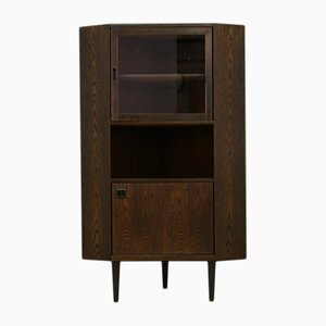 Mid-Century Danish Oak and Veneer Cabinet, 1960s