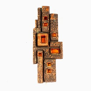 Mid-Century German Resin Sconce from Ars Mundo, 1960s