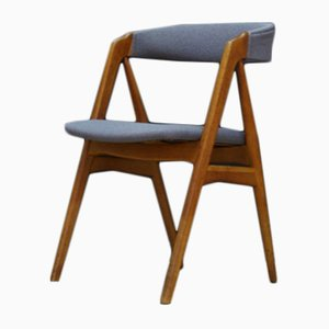 Danish Teak Dining Chair by T.H. Harlev for Farstrup Møbler, 1950s