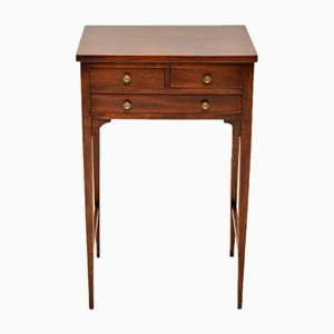 Antique George III Mahogany Side Table, 1790s