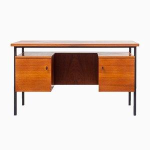 Mid-Century Schreibtisch aus Teakfurnier, 1960er