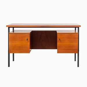 Mid-Century Teak and Veneer Desk, 1960s