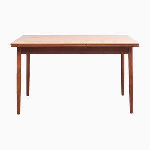 Mid-Century Teak and Veneer Extendable Dining Table, 1960s