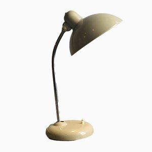 Lámpara de mesa alemana industrial Mid-Century de metal, años 50