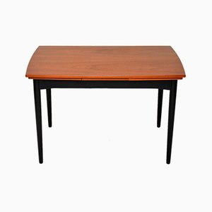 Vintage Danish Teak Extending Dining Table, 1960s