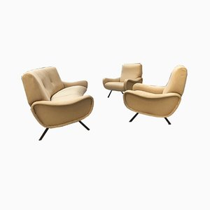 Italian Modern Living Room Set by Marco Zanuso for Arflex, 1950s
