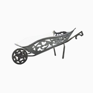 Antique Silver Wheelbarrow Piece by Charles S. Green