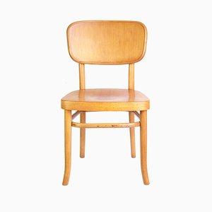 Sedia A283 in legno curvato di Adolf Schneck per Thonet, 1928