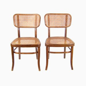 Model A283 Bentwood Side Chairs by Adolf Schneck for Thonet, 1928, Set of 2
