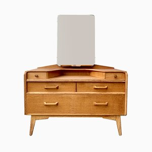 Mid-Century Oak and Teak Dressing Table from G-Plan, 1960s
