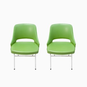 Club chair FM32 in PVC di Cees Braakman per Pastoe, 1974, set di 2