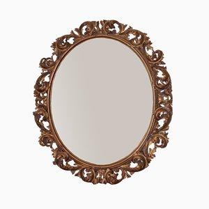 Espejo italiano estilo barroco, años 60