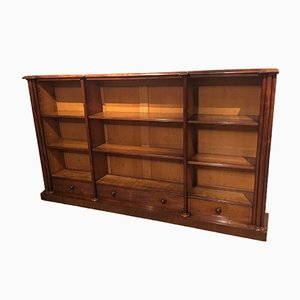 Victorian Mahogany Bookcase