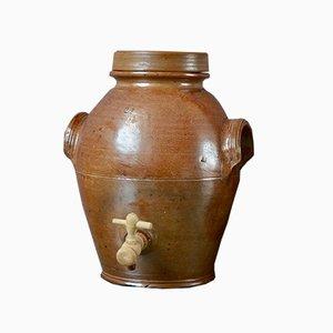Vintage Behälter aus Steingut