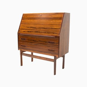 Danish Rosewood Model 68 Desk by Arne Wahl Iversen for Vinde Møbelfabrik, 1960s