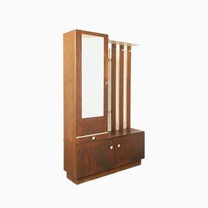 Mueble Mid-Century de chapa de palisandro, años 60