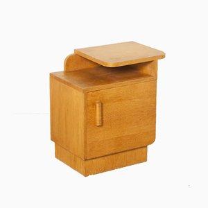 Mueble Art Déco vintage de roble y chapa, años 20