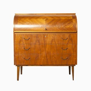 Vintage Rosewood and Teak Desk by Egon Ostergaard for Svensk Mobelindustri, 1970s