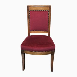 Antique French Mahogany Dining Chair