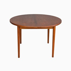Mesa de comedor de teca de Nils Jonsson para Troeds Bjarnum, años 60