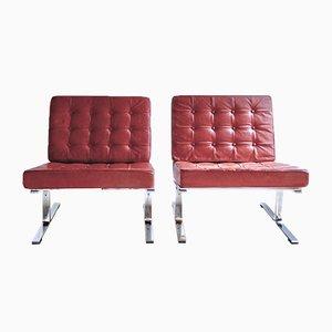 Model F60 Lounge Chairs by Karl-Erik Ekselius for JOC Vetlanda, 1960s, Set of 2