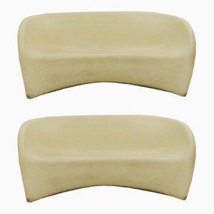 MT2 Sofas aus Polyethylen von Ron Arad für Driade, 2000er, 2er Set