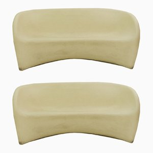 Polyethylene/Styrofoam MT2 Sofas by Ron Arad for Driade, 2000s, Set of 2