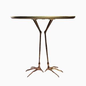 Trace Tisch aus Metall von Meret Oppenheim für Simon Collezione, 1970er