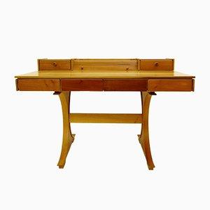 530 Schreibtisch aus Holz von Gianfranco Frattini für Bernini, 1960er