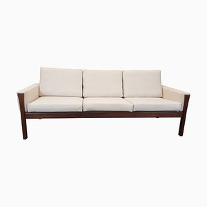 Danish Rosewood CH 163 Sofa by Hans J. Wegner for Carl Hansen & Søn, 1960s