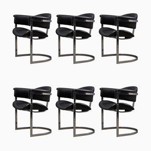 Chaises de Salle à Manger par Vittorio Introini pour Mario Sabot, Italie, 1970s, Set de 6
