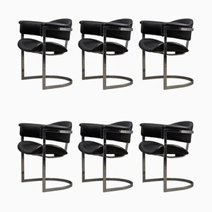 Italienische Esszimmerstühle von Vittorio Introini für Mario Sabot, 1970er, 6er Set