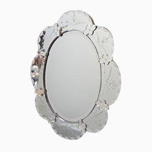 Antiker italienischer Napoleon III Spiegel