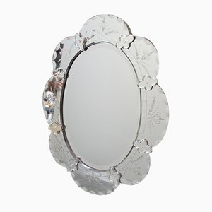 Antique Italian Napoleon III Mirror