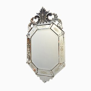 Espejo Napoleón III italiano antiguo