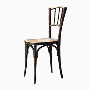 Antique French Bentwood Bistro Chair from Thonet