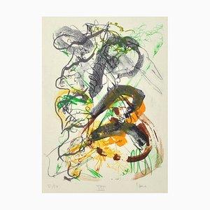 Dänische Lithografie von Henrik Have, 1980er