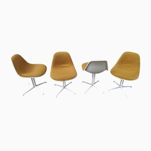 La Fonda Side Chairs by Charles & Ray Eames for Herman Miller, 1970s, Set of 4