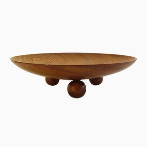 Vintage Wooden Tableware, 1970s
