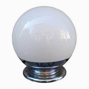 70 428 Tischlampe aus Opalglas von Luci, 1970er