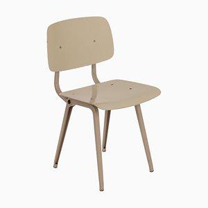 Revolt Beistellstuhl aus Metall von Friso Kramer für Ahrend De Cirkel, 1950er