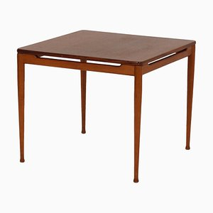 Mesa 537 de teca de Hartmut Lohmeyer para Wilkhahn, años 60