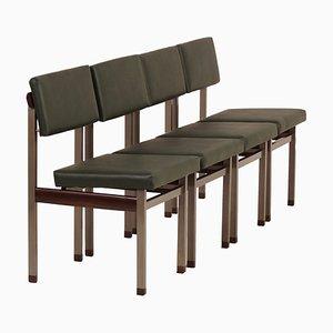 Pali Esszimmerstühle von Louis van Teeffelen für Wébé, 1960er, 4er Set