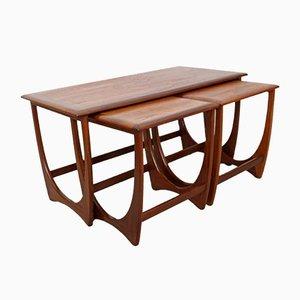 Tavolini ad incastro di G-Plan, anni '70
