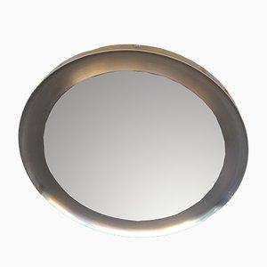 Spiegel mit vernickeltem Messingrahmen von Sergio Mazza für Artemide, 1970er